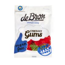 Debron ''Cherry Gums'' Cukormentes Gumicukor 90 g