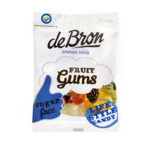 Debron Fruitgum Cukor És Gluténmentes Gumicukor Édesítőszerrel 100 g