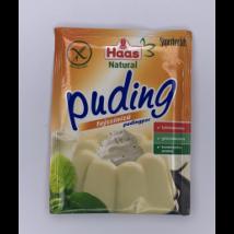 Haas Natural Gluténmentes Tejszínes Pudingpor 40 g