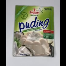 Haas Natural Gluténmentes Kókuszos Pudingpor 40 g