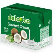 DelCoco kókusztejszín 200 ml