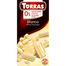 Torras Fehércsokoládé Hozzáadott Cukor Nélkül 75 g