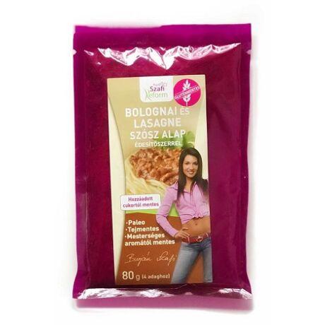 Szafi Reform szószalap, bolognai, lasagne édesítőszerrel (gluténmentes) 80g