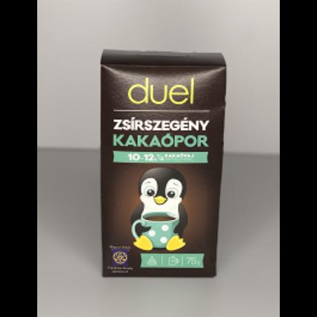 Duel Zsírszegény Kakaópor 75 g